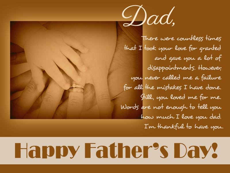 Best Wishes for Fathers Day