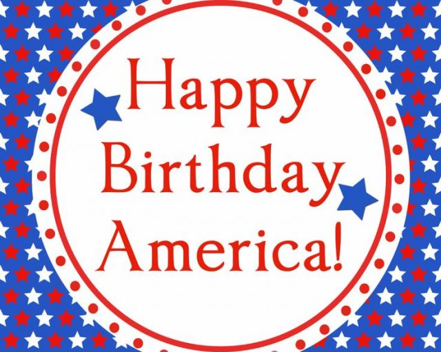 Happy 4th of July Birthday Images