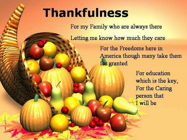 Happy Thanksgiving Quotes for Family