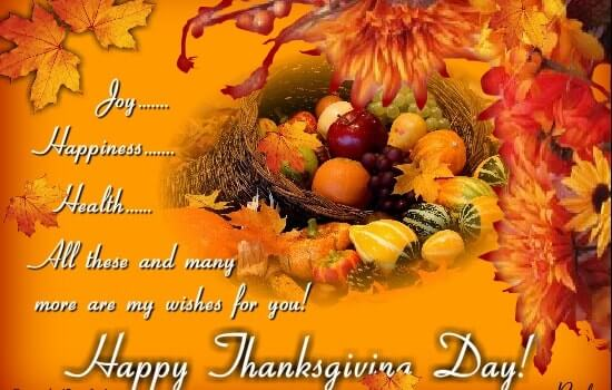 Thanksgiving Greetings Quotes