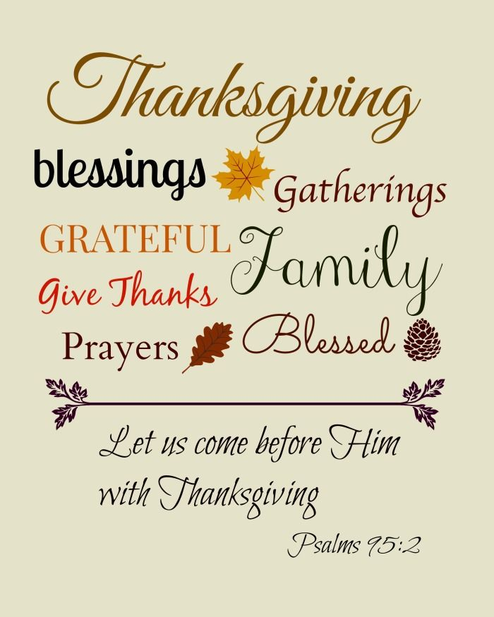 Thanksgiving Quotes for Bible