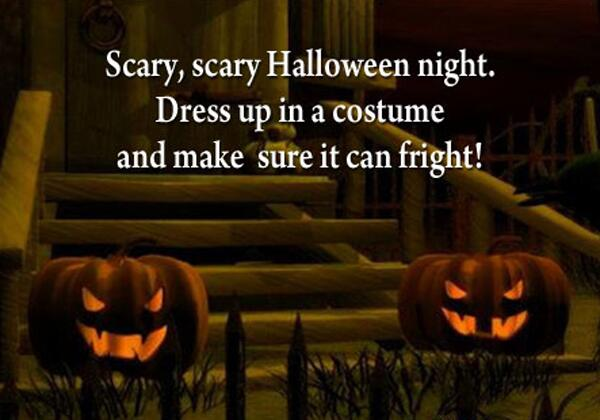 Scary Halloween messages