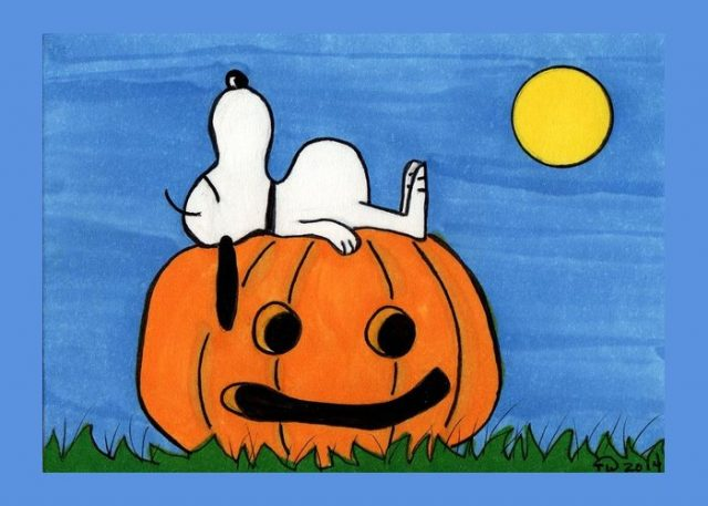 Snoopy Halloween Images