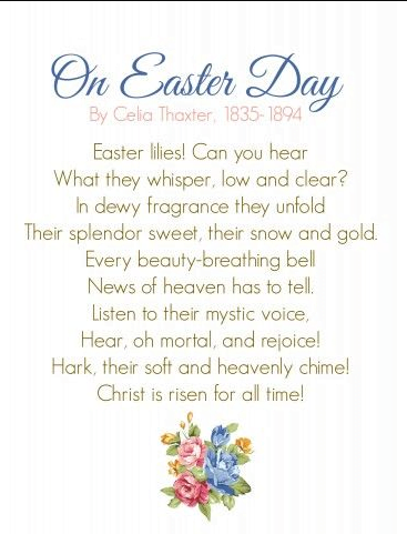Easter Speeches For Toddlers