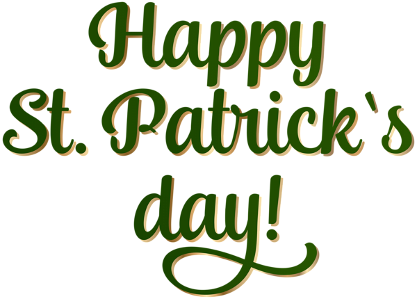 Happy St Patrick's Day Clip Art Images