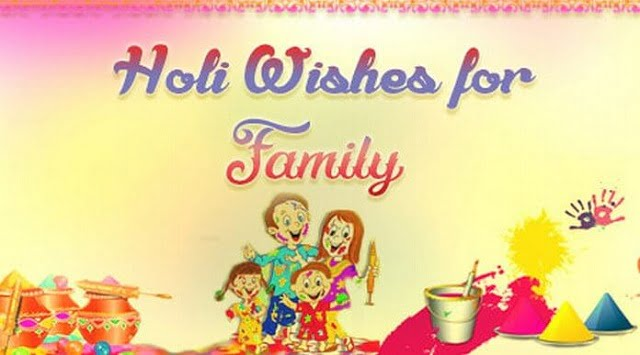 Holi Wishes for Daughter