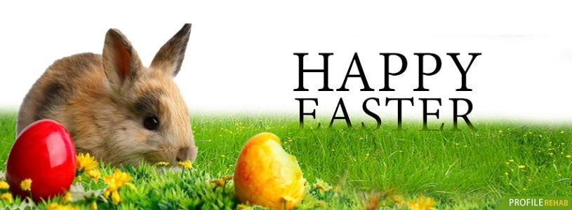 Easter Bunny Facebook Cover