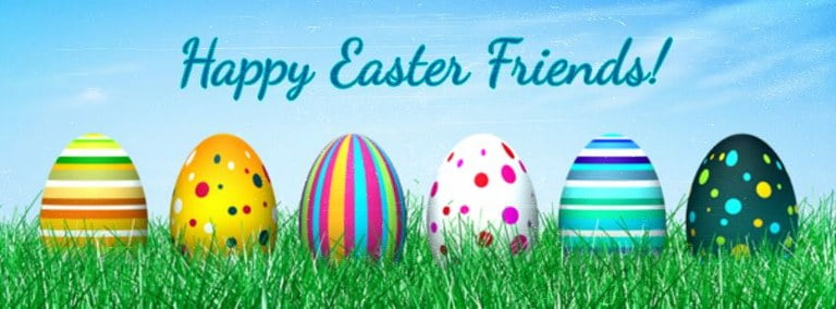 Happy Easter Facebook Covers