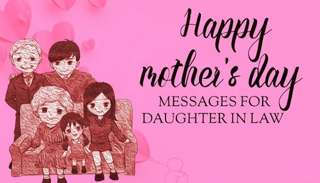 Mothers Day Messages For Your Daughter In Law